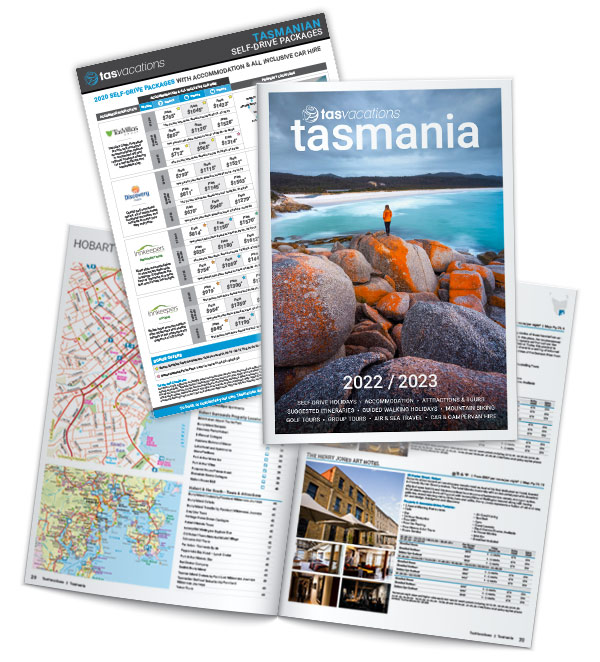 TasVacations Tasmania Brochure Pack
