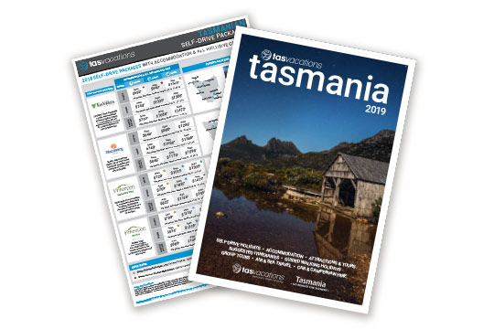 Tasmania Brochure and Visitor Guide Pack