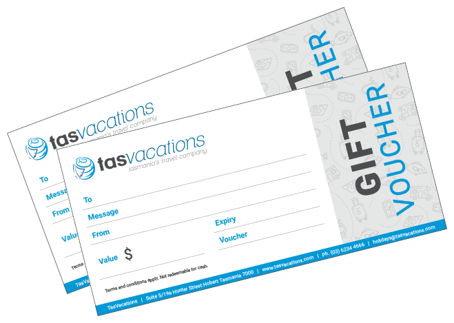 TasVacations Tasmania Gift Vouchers