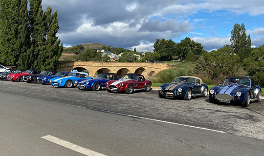 Car Club Group Tours Tasmania