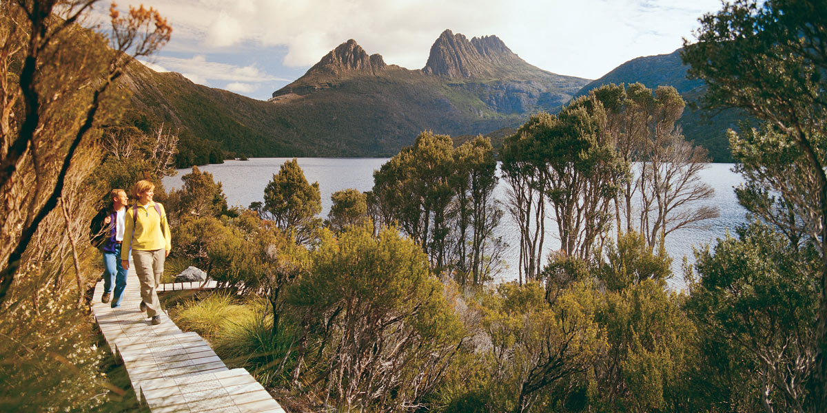 Cradle Mountain Dove Lake Tasmania