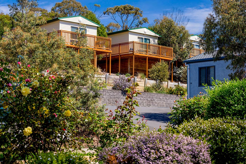 12 night cabin stay self drive holiday tasmania package for Vacation cabin kits