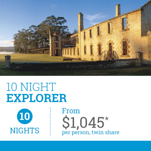 TasVacations Tasmania Holiday Package - 10 Night Explorer