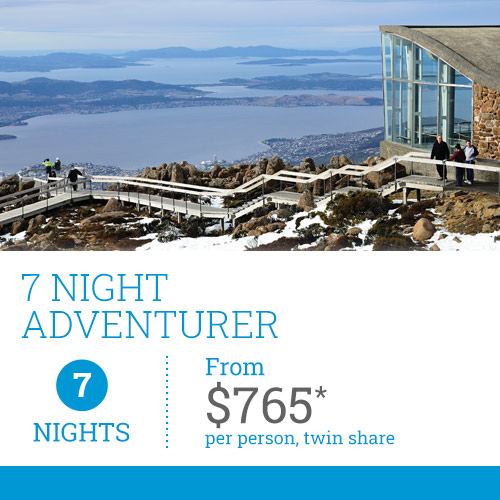 TasVacations 7 Night Adventurer Tasmania Self-Drive Holiday Package