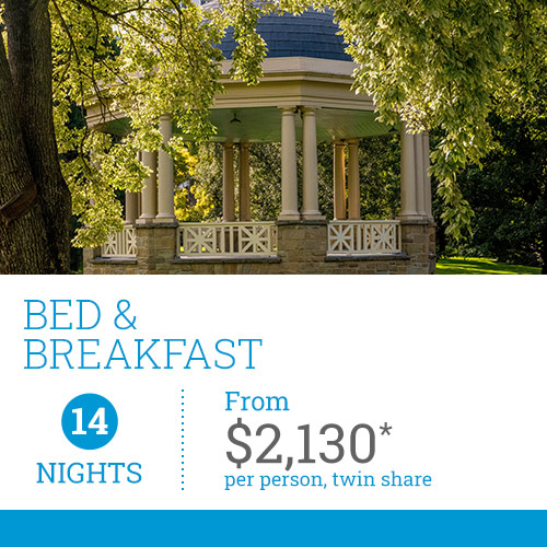 TasVacations Tasmania Holiday Package - Bed & Breakfast