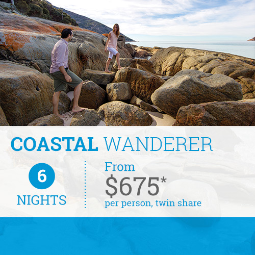 TasVacations Tasmania 6 Night Coastal Wanderer Holiday Package
