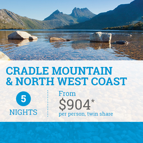 TasVacations Tasmania 5 Night Cradle Mountain & North West Coast Holiday Package