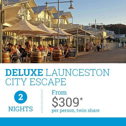 TasVacations Tasmania 2 Night Deluxe Launceston City Escape Holiday Package