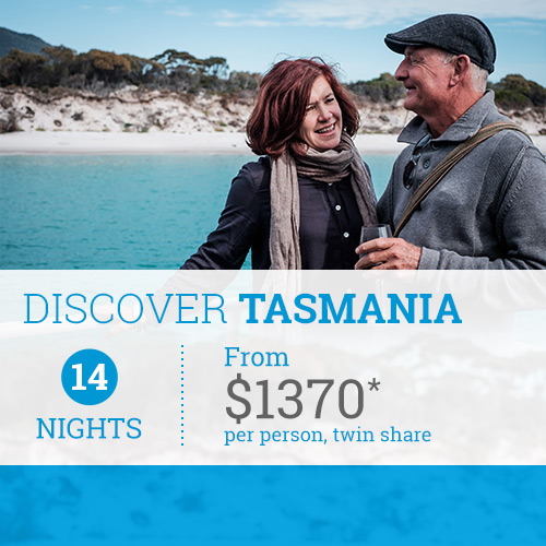TasVacations Tasmania 14 Night Discover Tasmania Self-Drive Holiday Package