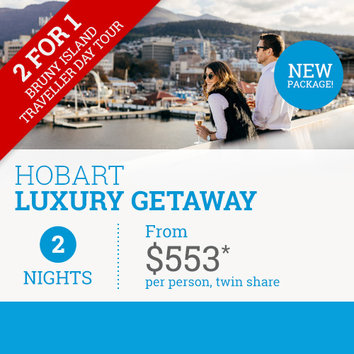 TasVacations Tasmania Hobart Luxury Getaway Holiday Package