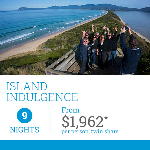 TasVacations Tasmania 9 Night Island Indulgence Luxury Self-Drive Holiday Package