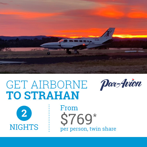 TasVacations Tasmania 2 Night Get Airborne to Strahan Holiday Package