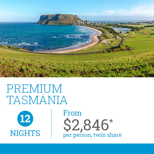 TasVacations Tasmania 12 Night Premium Self-Drive Holiday Package