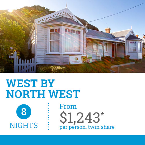 TasVacations Tasmania 8 Night West By North West Holiday Package