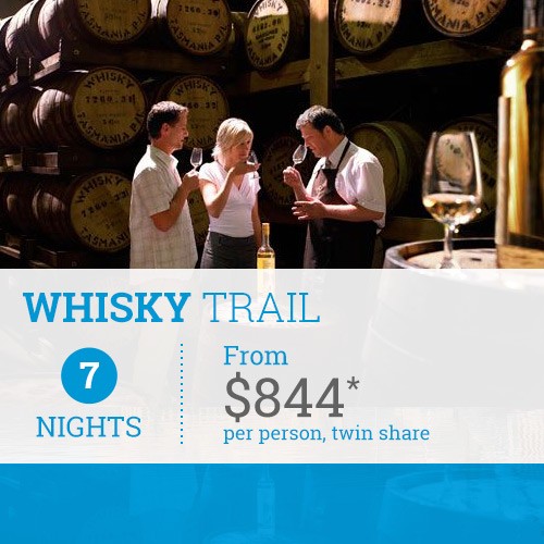 TasVacations Tasmania 7 Night Whisky Trail Self-Drive Holiday Package